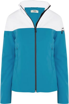 FENDI Two-tone shell jacket
