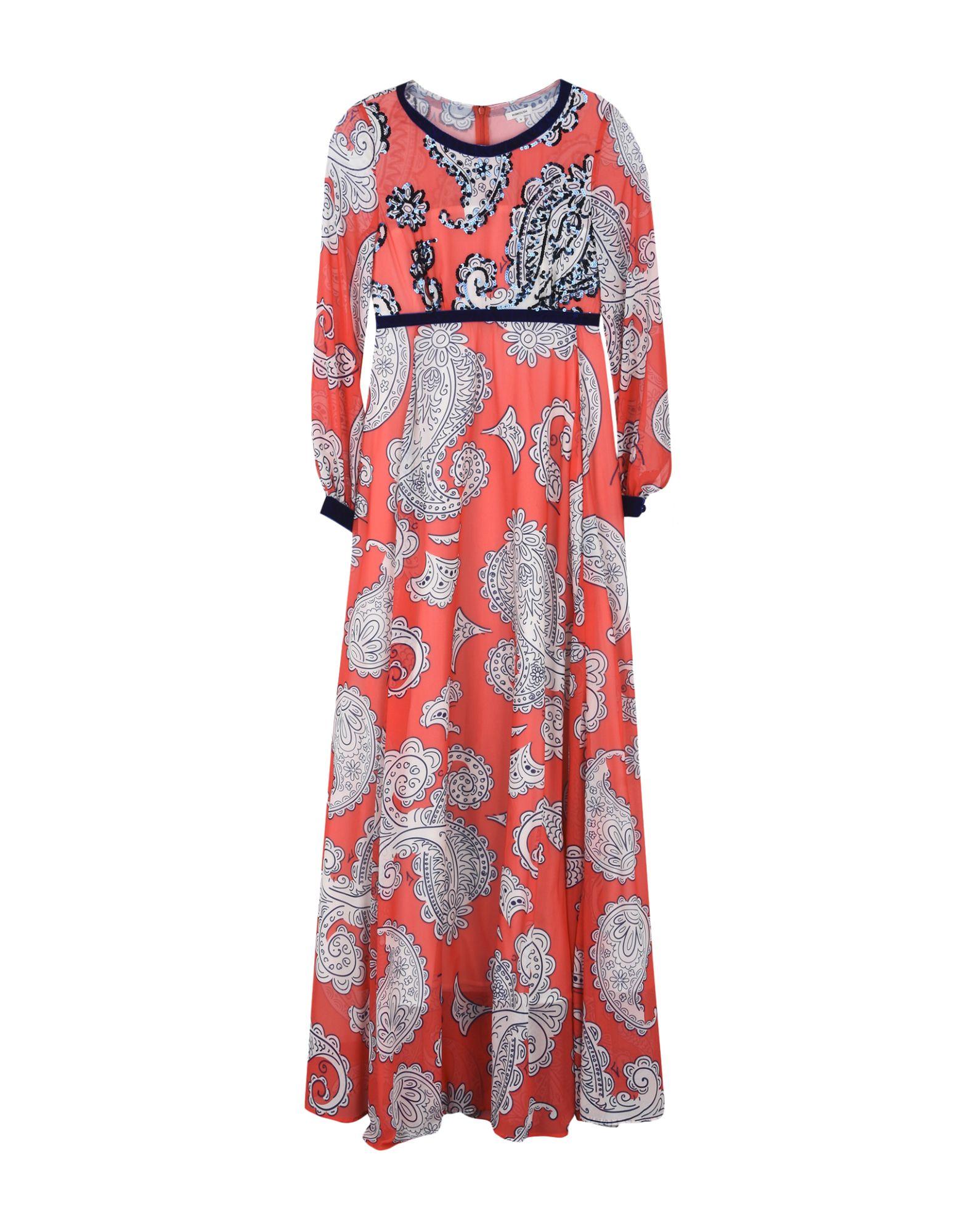 MANOUSH Длинное платье платье длинное с рисунком пейсли