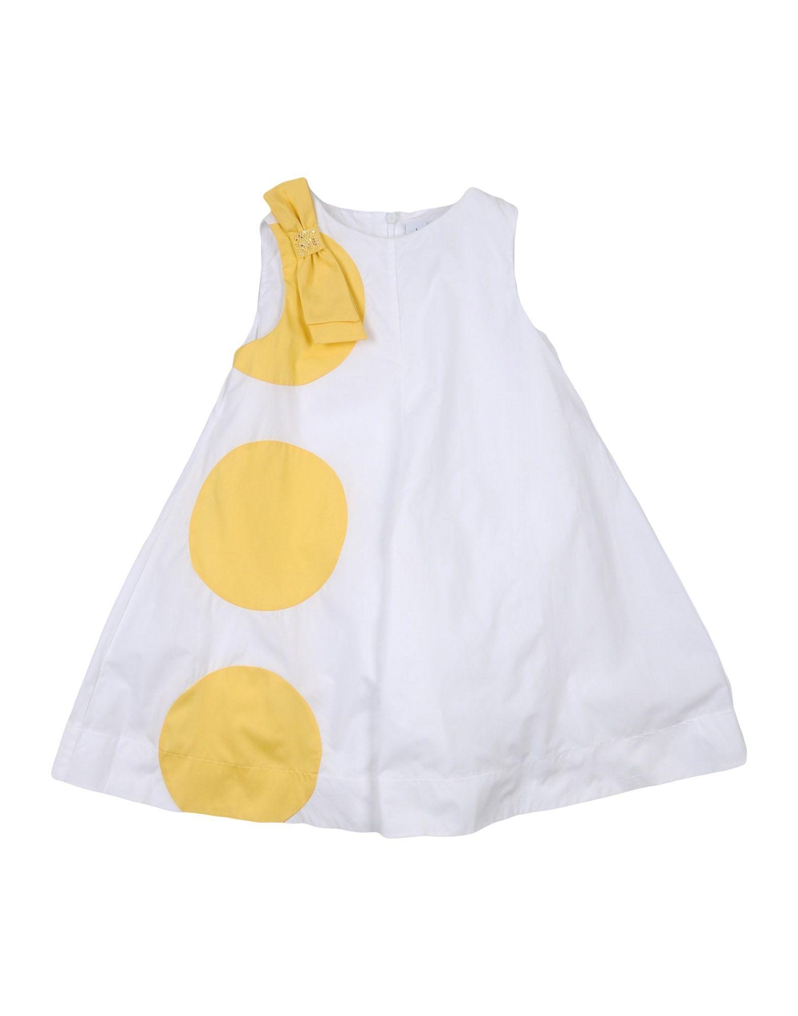 SIMONETTA MINI Mädchen 3-8 jahre Kleid Farbe Weiß Größe 3