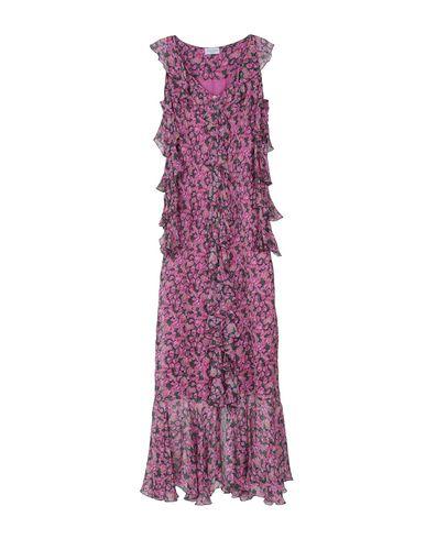 Фото - Женское длинное платье RAQUEL DINIZ розового цвета