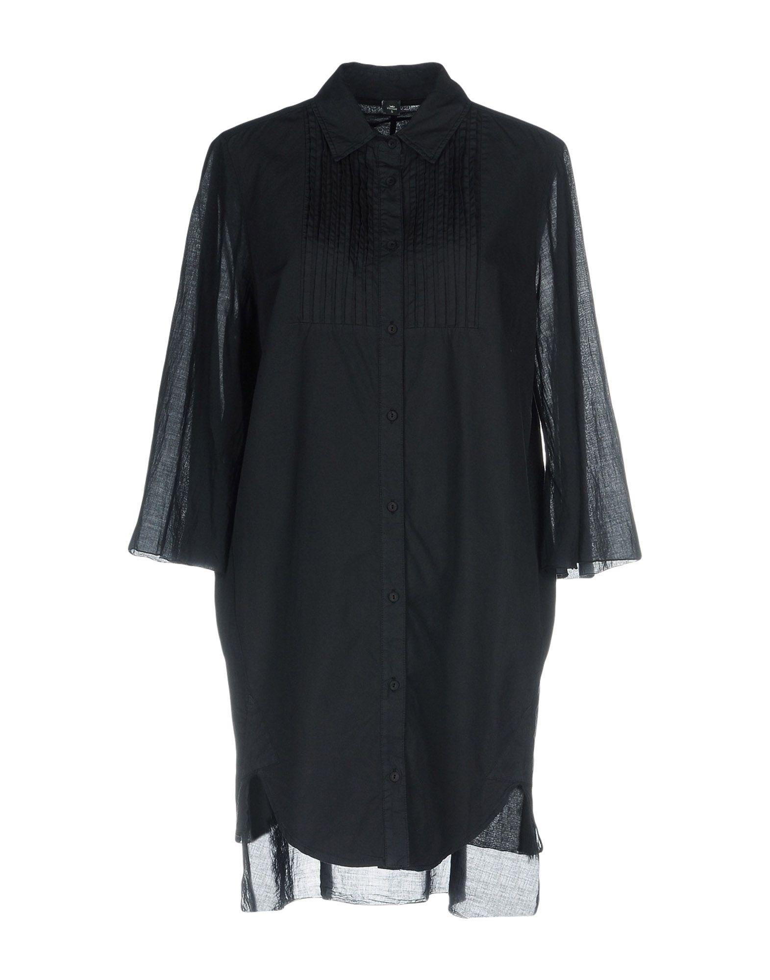 EUROPEAN CULTURE Короткое платье женская рубашка european and american big c002617 2015