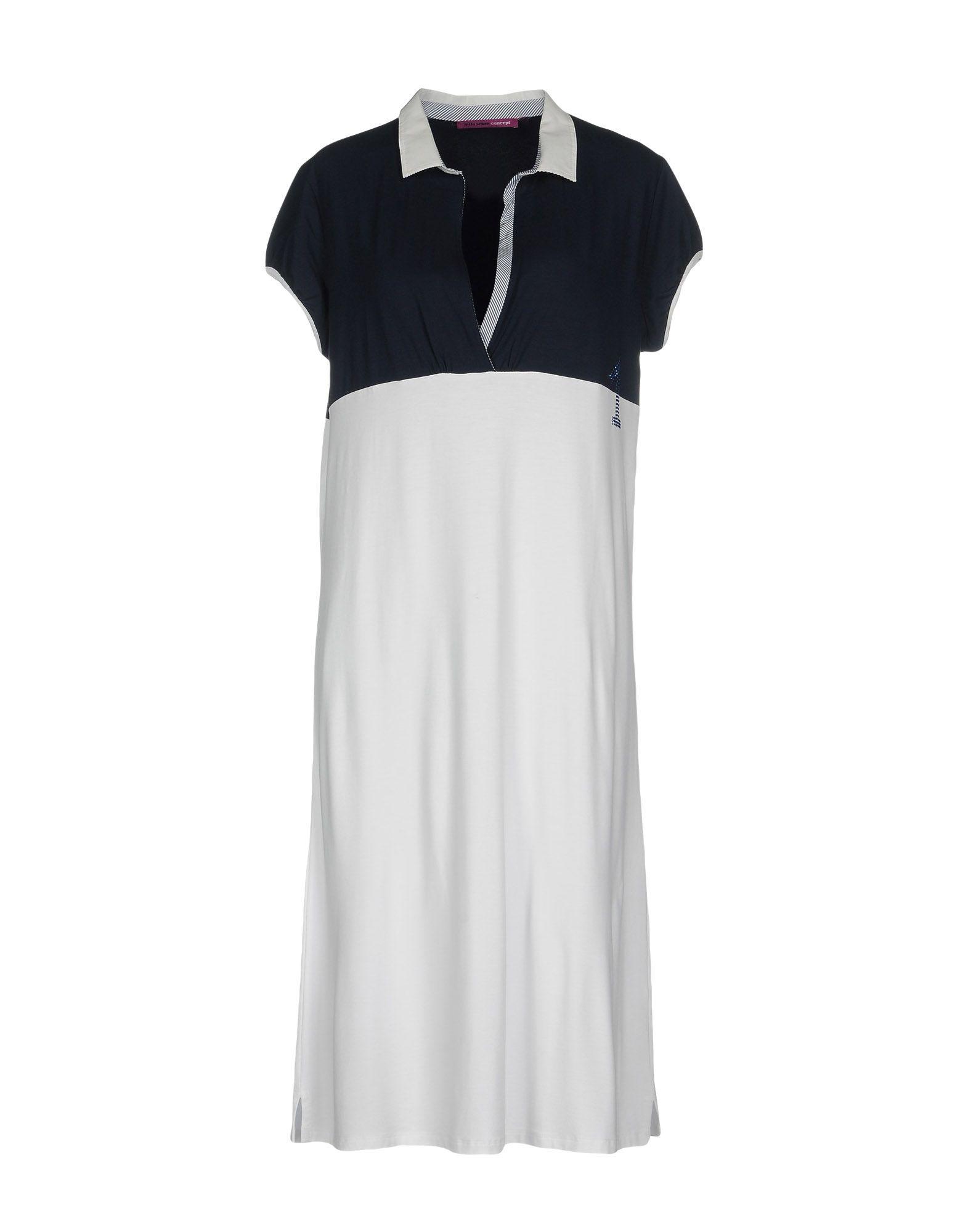 MILA SCHÖN CONCEPT Платье до колена цена 2017