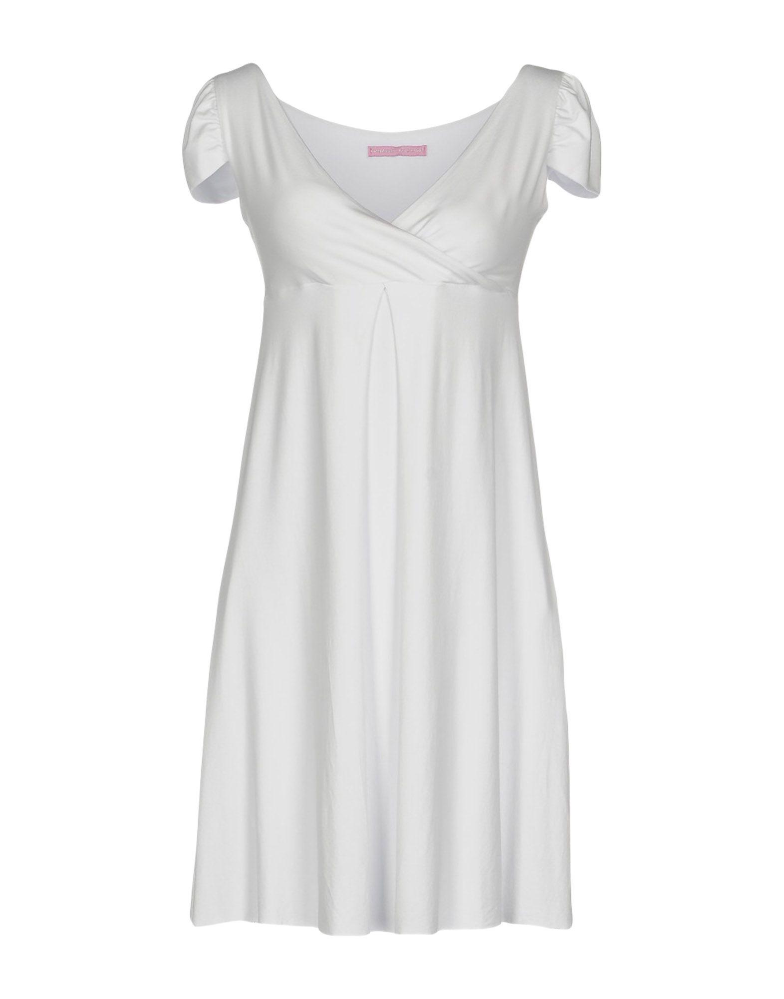 цена FRANCESCA FERRANTE Короткое платье онлайн в 2017 году