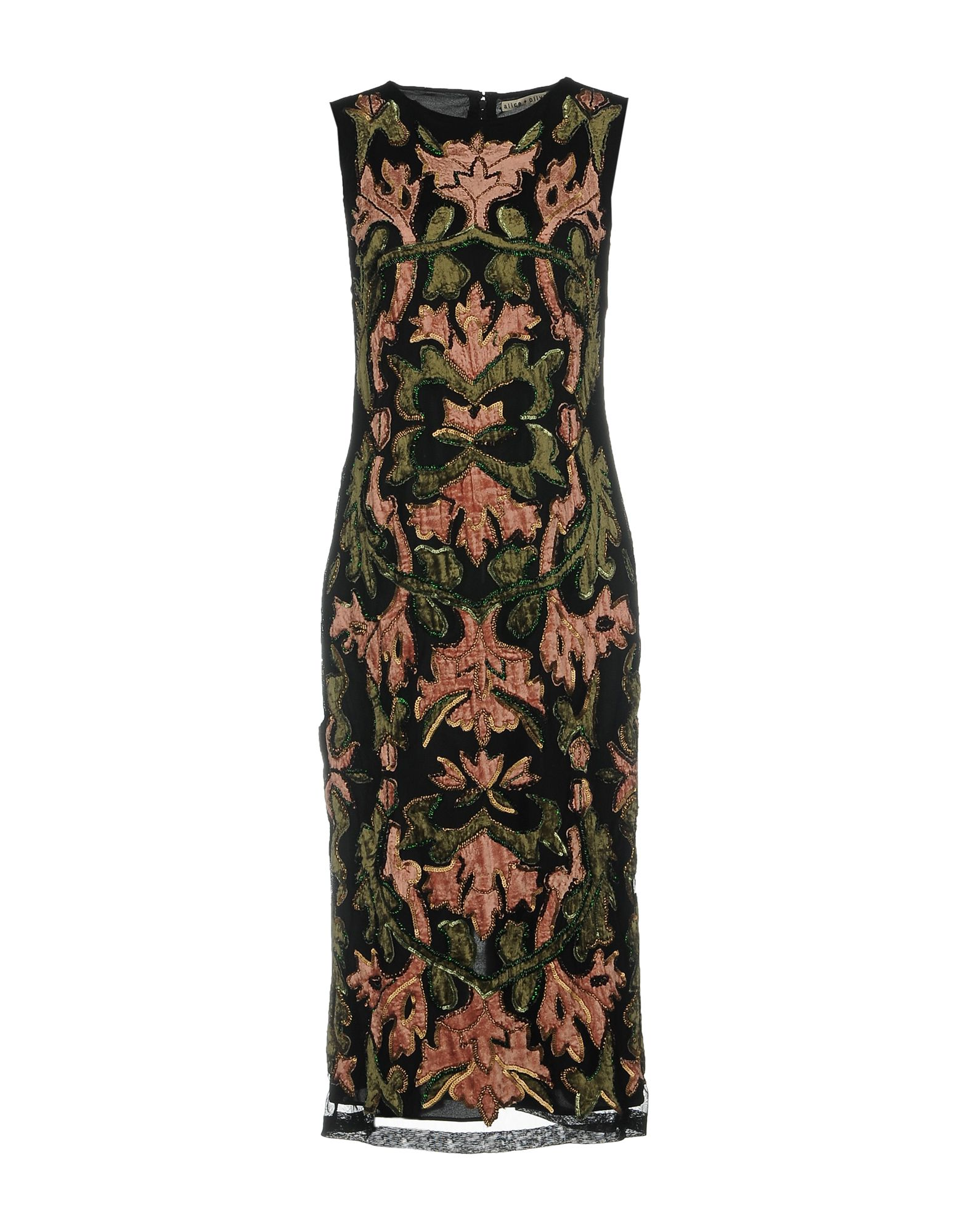 купить ALICE + OLIVIA Платье до колена по цене 33000 рублей