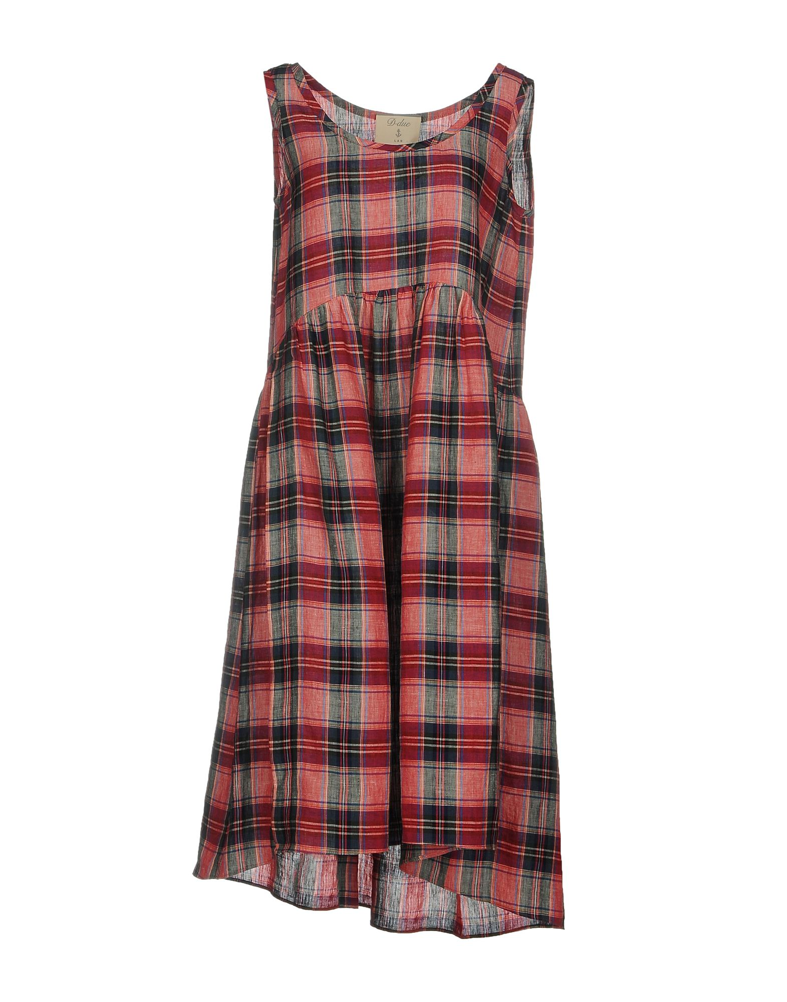цена D-DUE Платье до колена онлайн в 2017 году