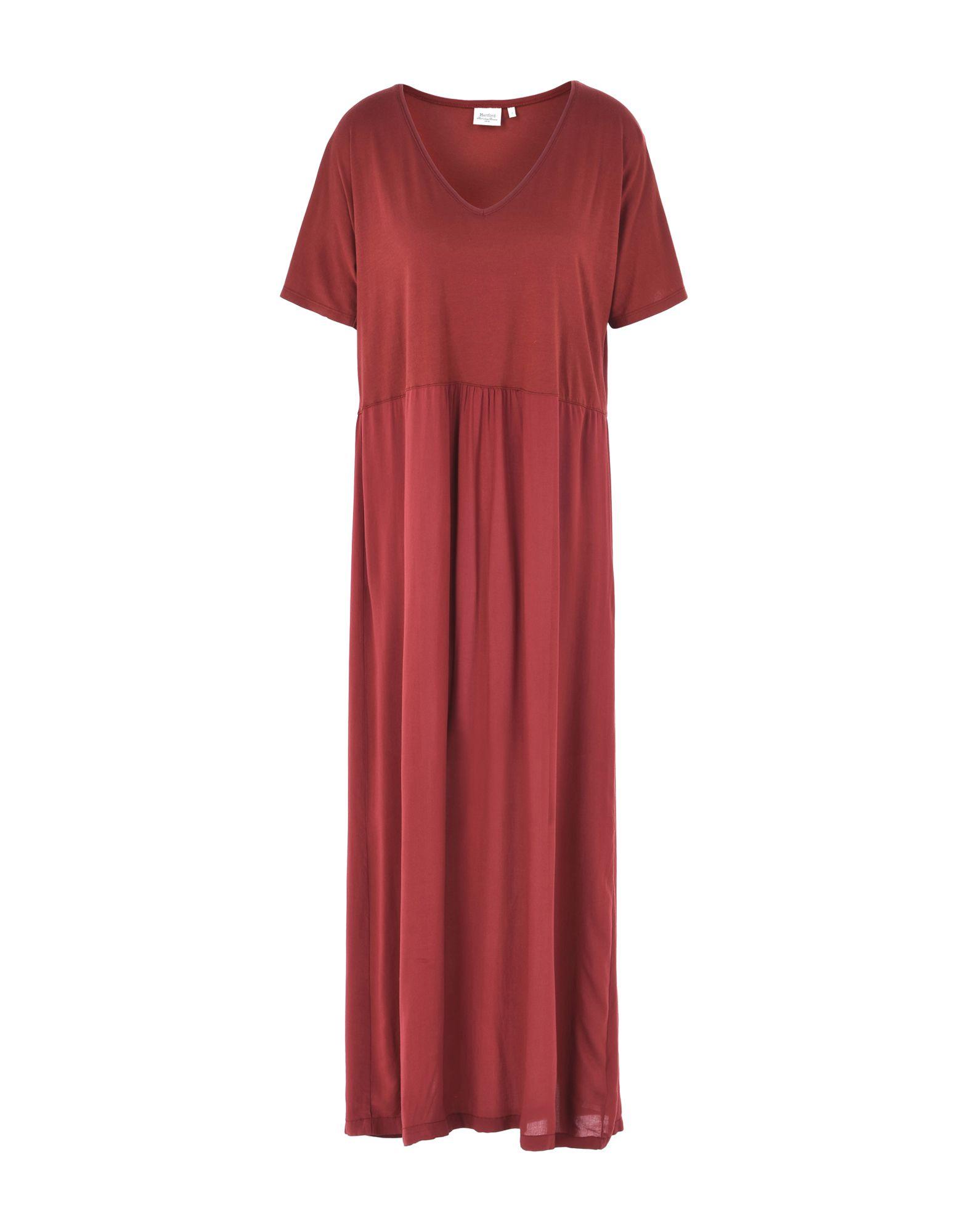 HARTFORD Платье длиной 3/4 lisa corti платье длиной 3 4