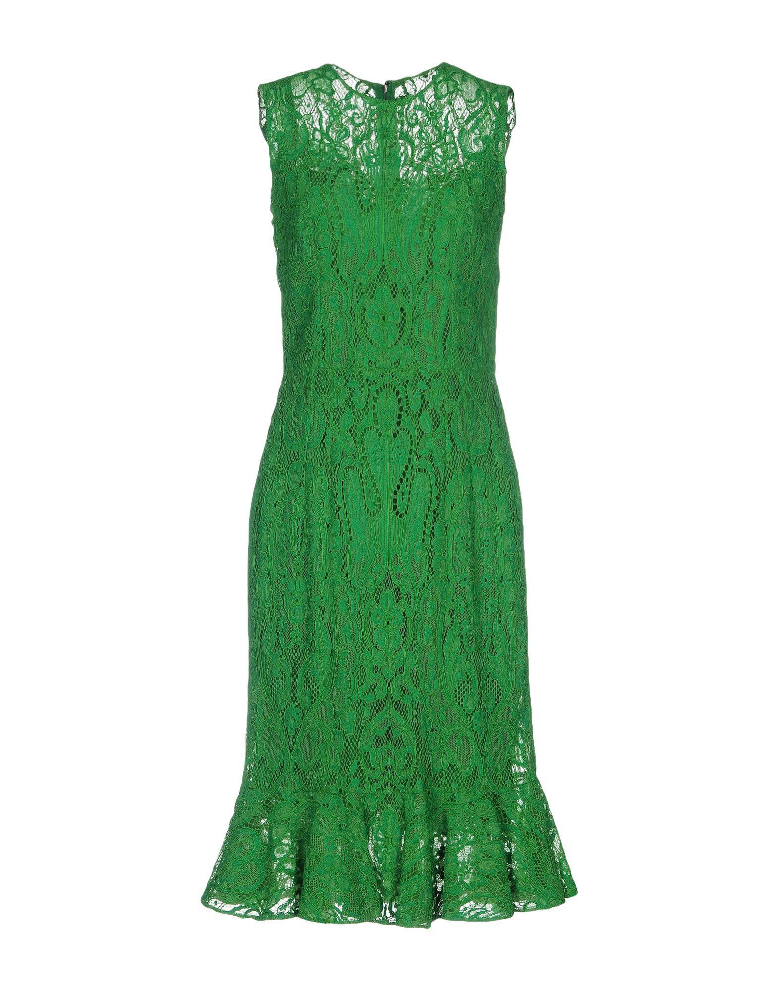 dolce and gabbana платье от gabbana 87443 DOLCE & GABBANA Платье до колена