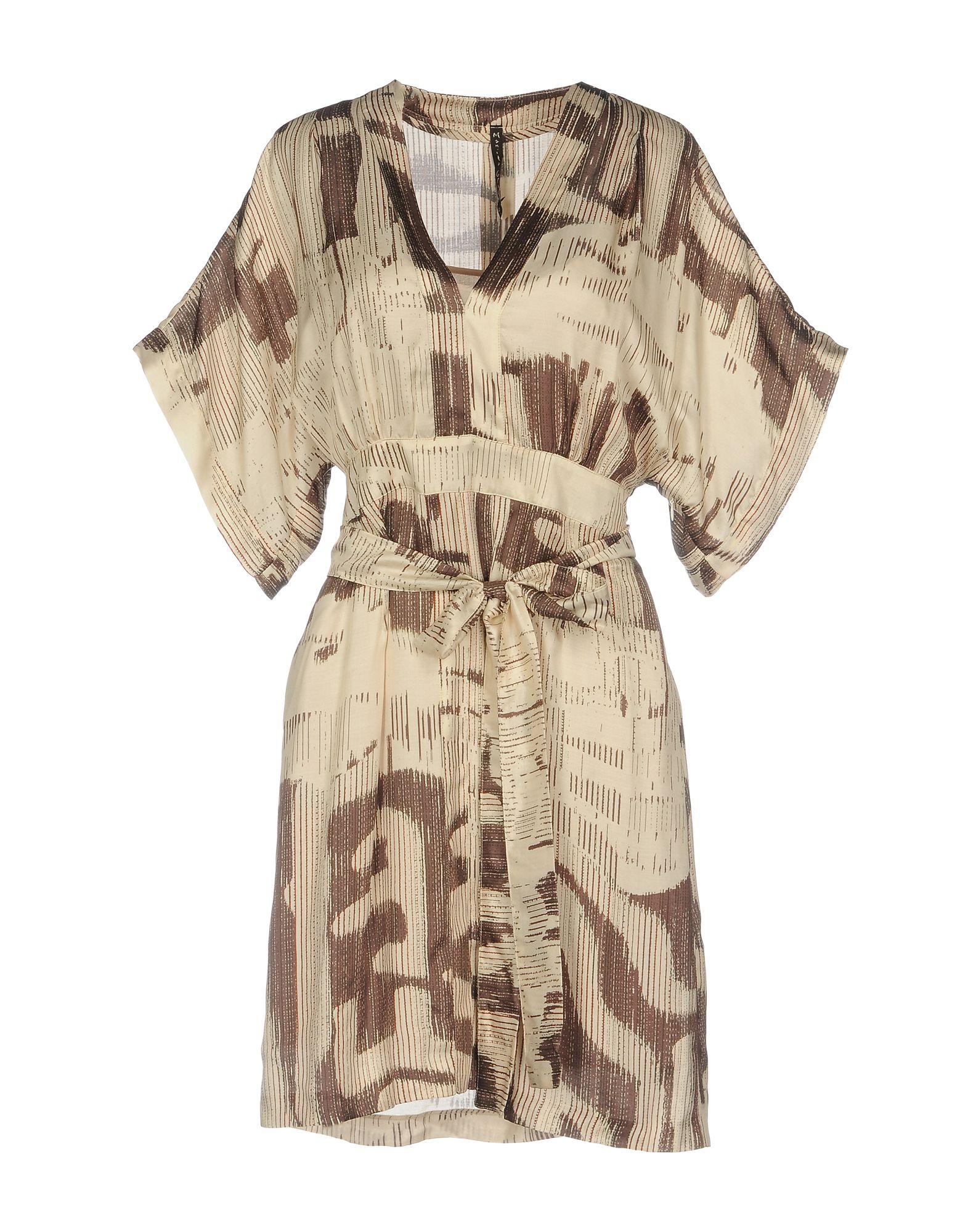 MANILA GRACE Короткое платье manila grace ремень