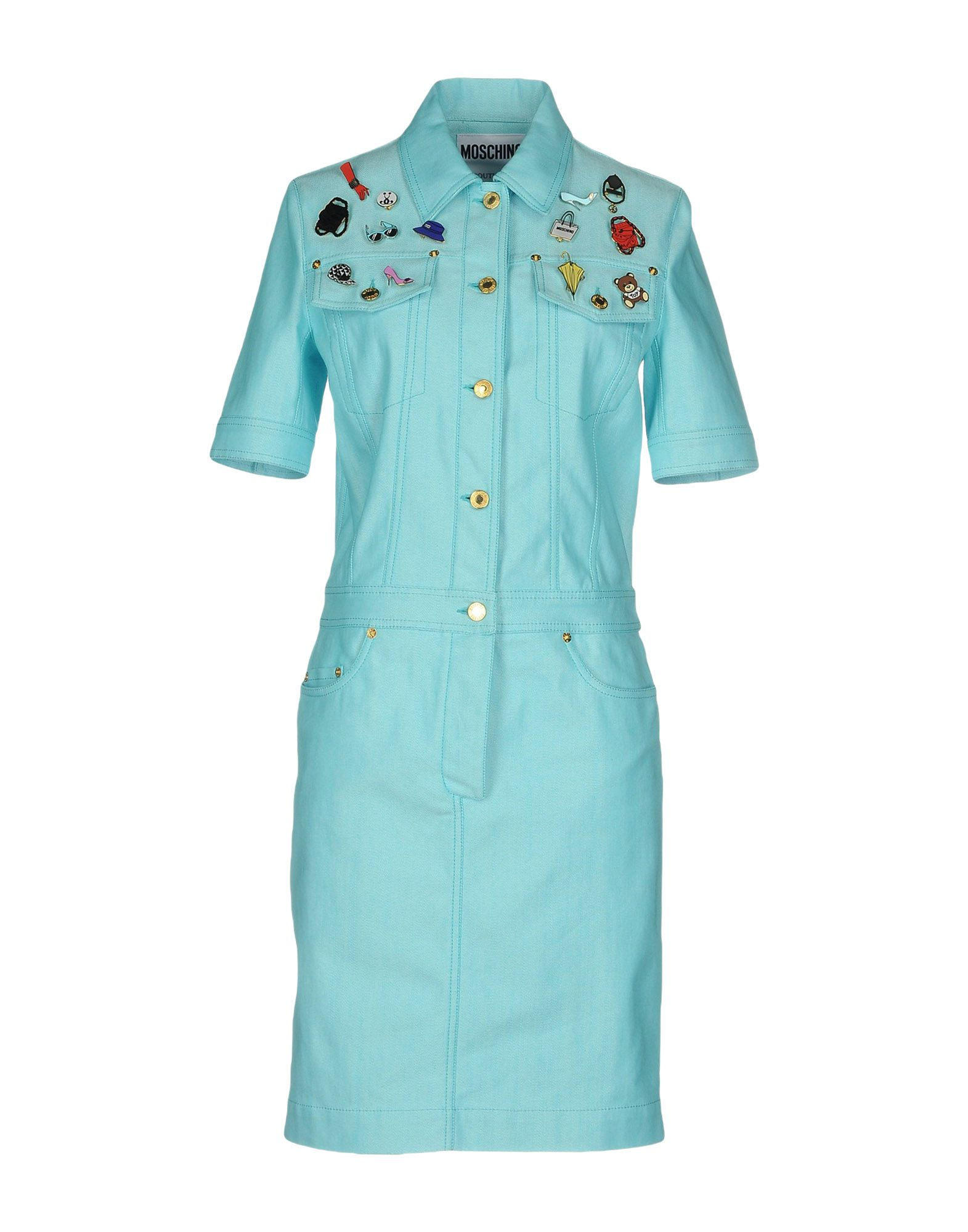 MOSCHINO COUTURE Платье до колена платье moschino moschino mo057ewiwk30