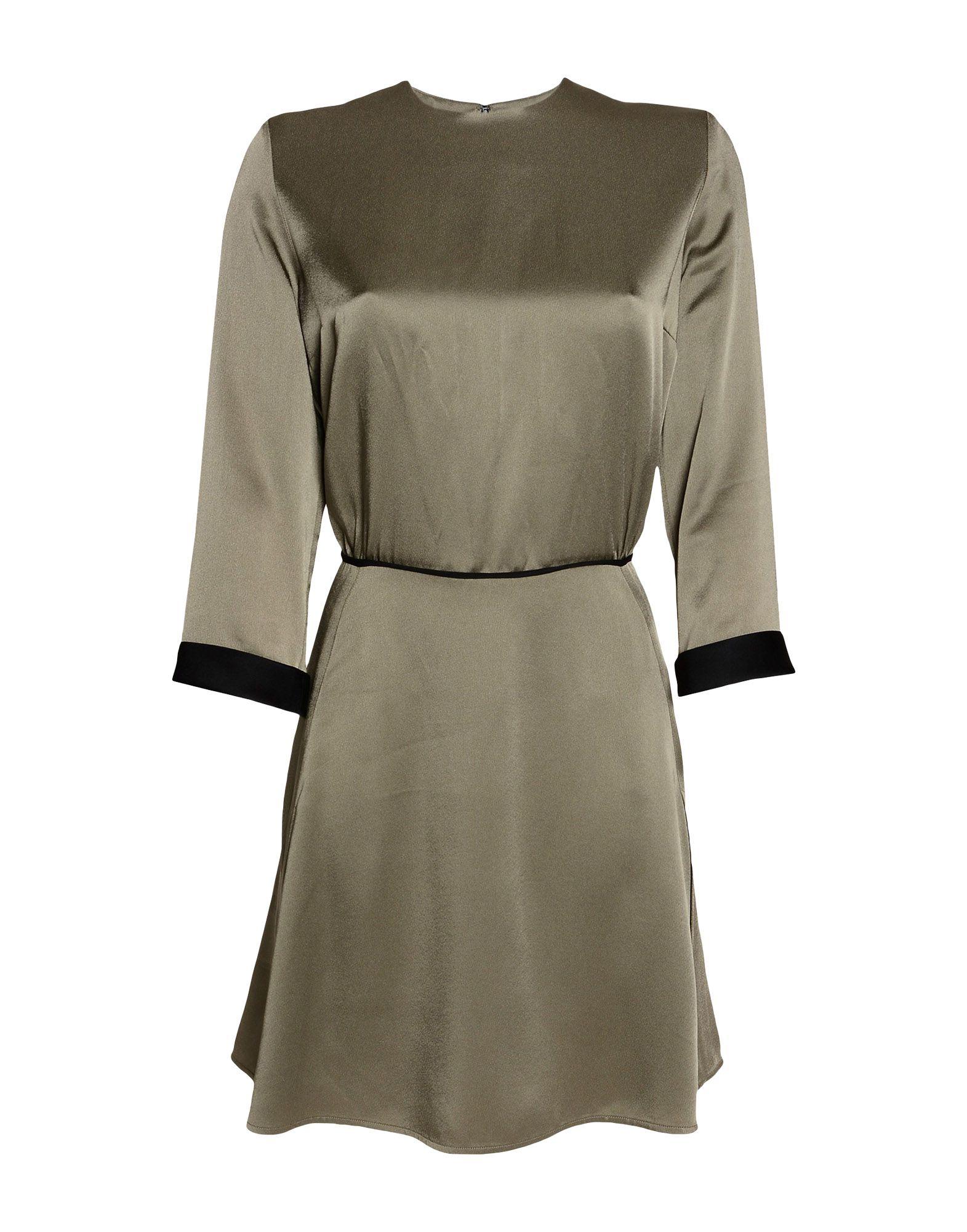 VICTORIA, VICTORIA BECKHAM Короткое платье victoria victoria beckham платье до колена