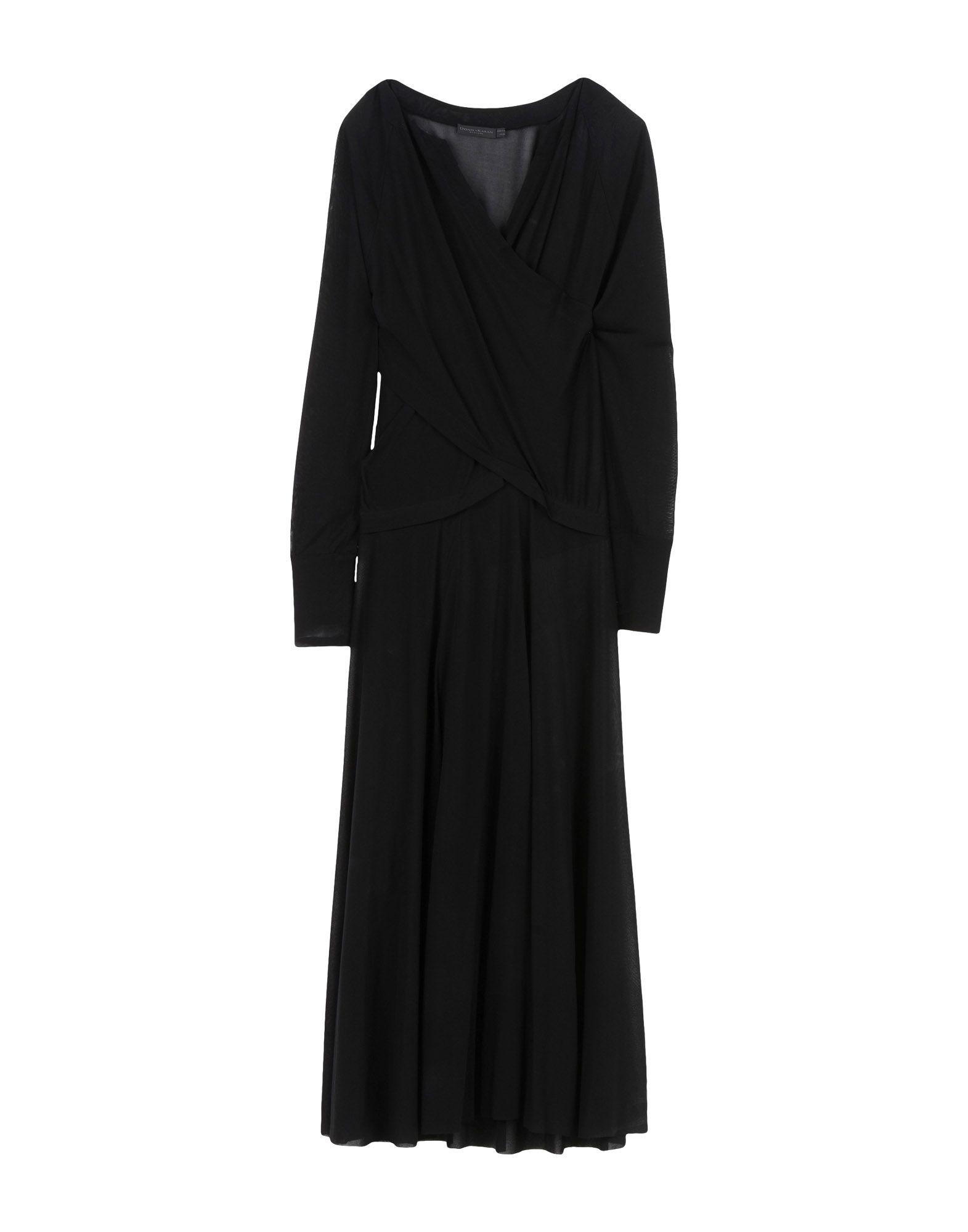 DONNA KARAN Платье длиной 3/4 tenax платье длиной 3 4
