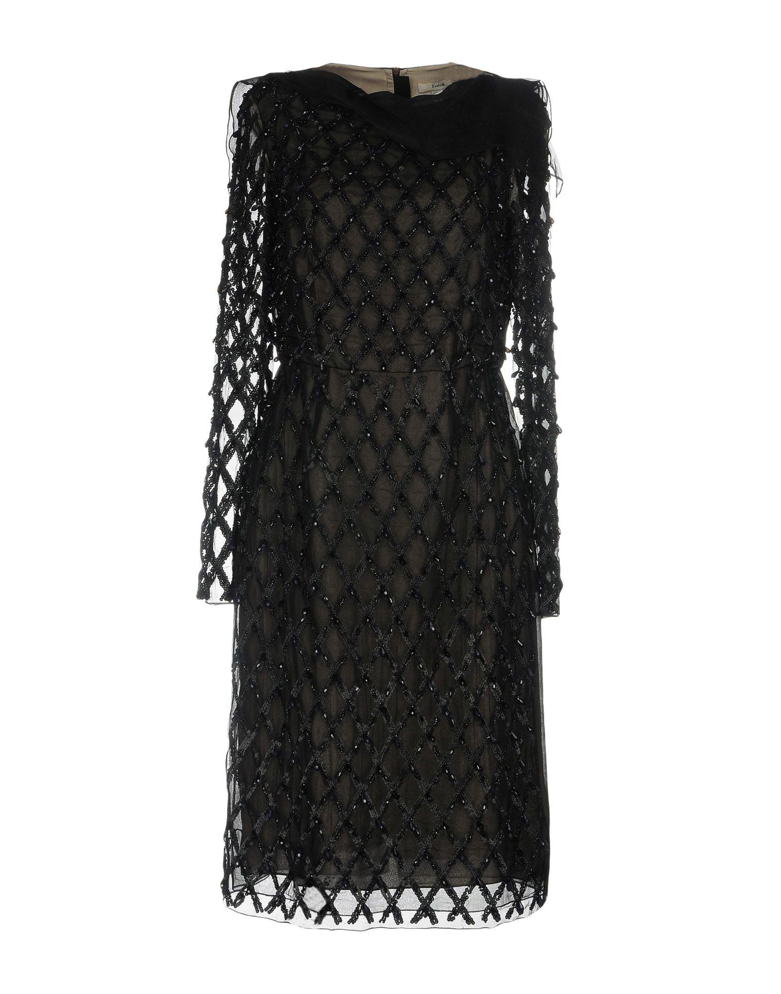 где купить ERDEM Платье до колена по лучшей цене
