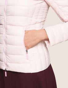 ARMANI EXCHANGE ULTRALIGHT SHAWL-COLLAR PUFFER JACKET PUFFER JACKET Woman b