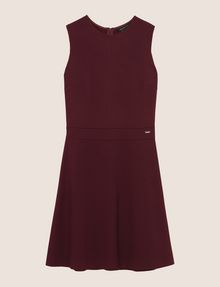 ARMANI EXCHANGE SEAMED FIT-AND-FLARE Mini dress Woman r
