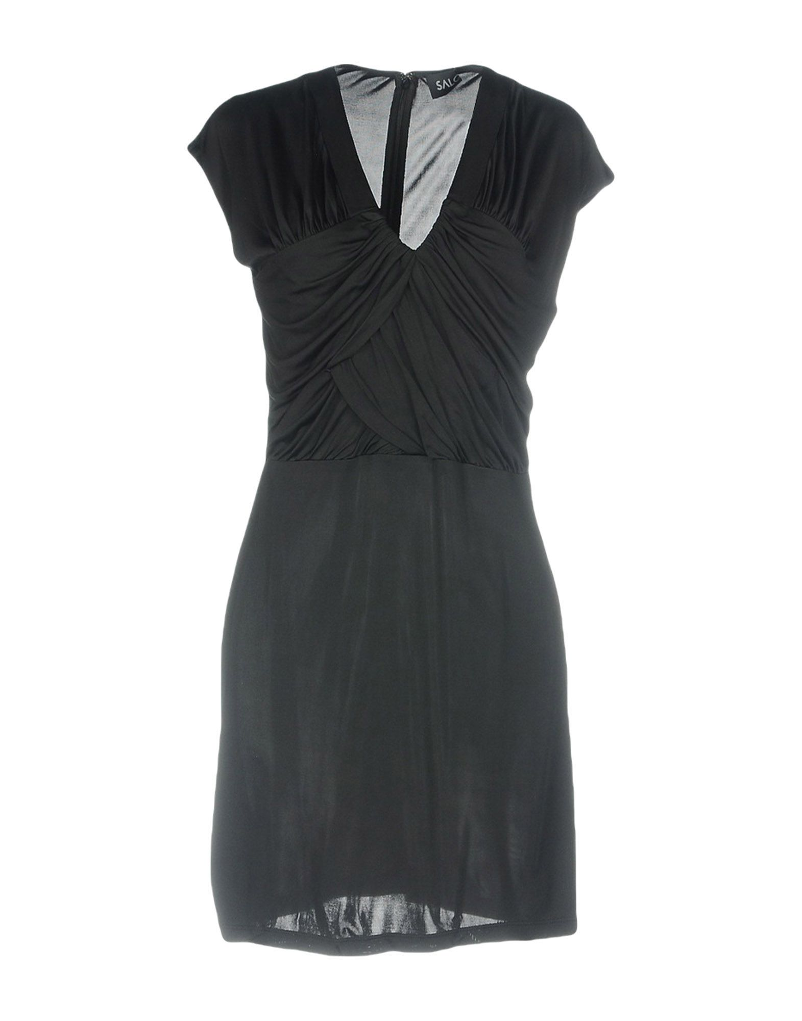 SALONI Короткое платье saloni платье katie
