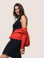 ARMANI EXCHANGE SEAMED V-NECK SHEATH Mini dress Woman a