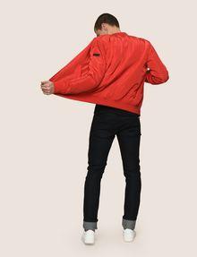ARMANI EXCHANGE MINIMAL UTILITY BOMBER Jacket Man e