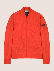 ARMANI EXCHANGE MINIMAL UTILITY BOMBER Jacket Man r