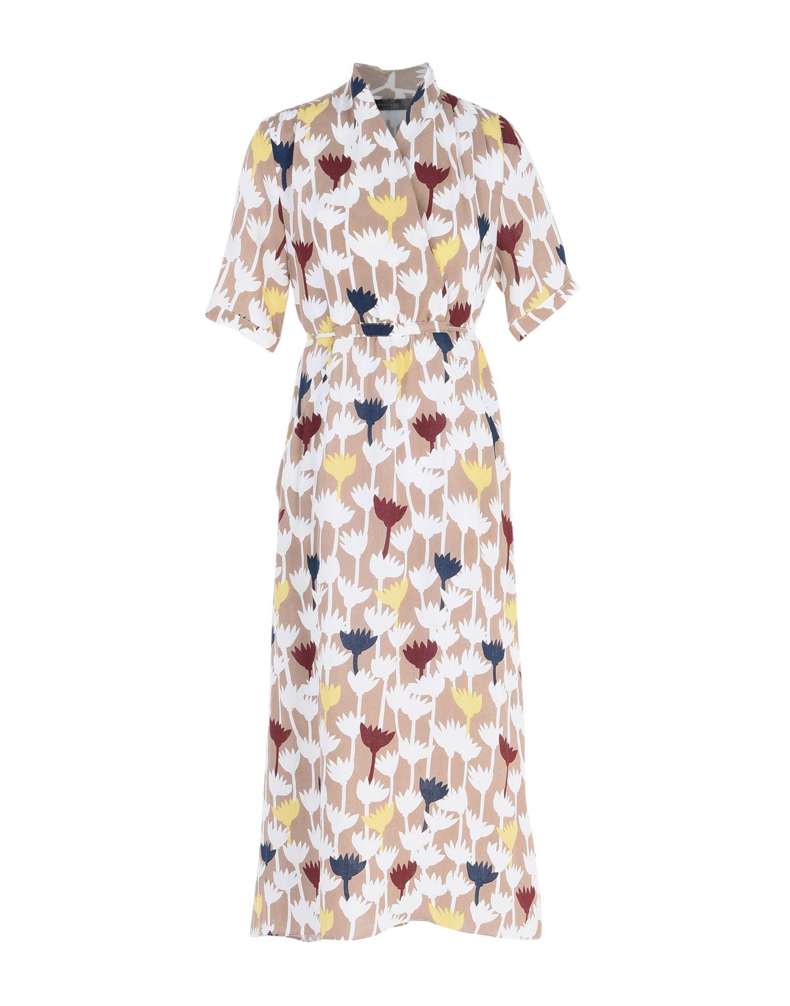 ANONYME DESIGNERS Платье длиной 3/4 lisa corti платье длиной 3 4