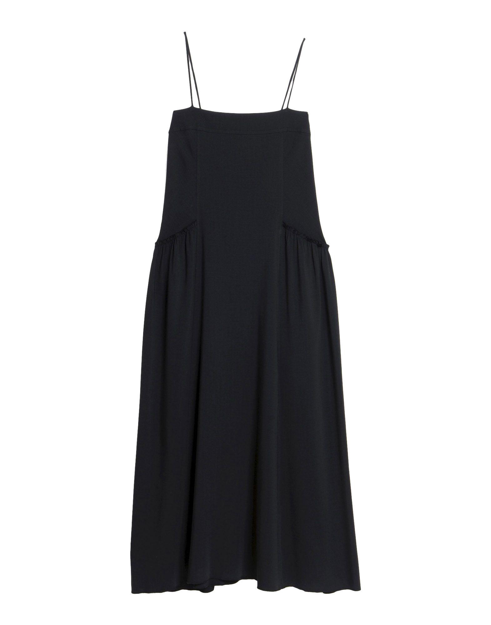 цена HELMUT LANG Длинное платье онлайн в 2017 году