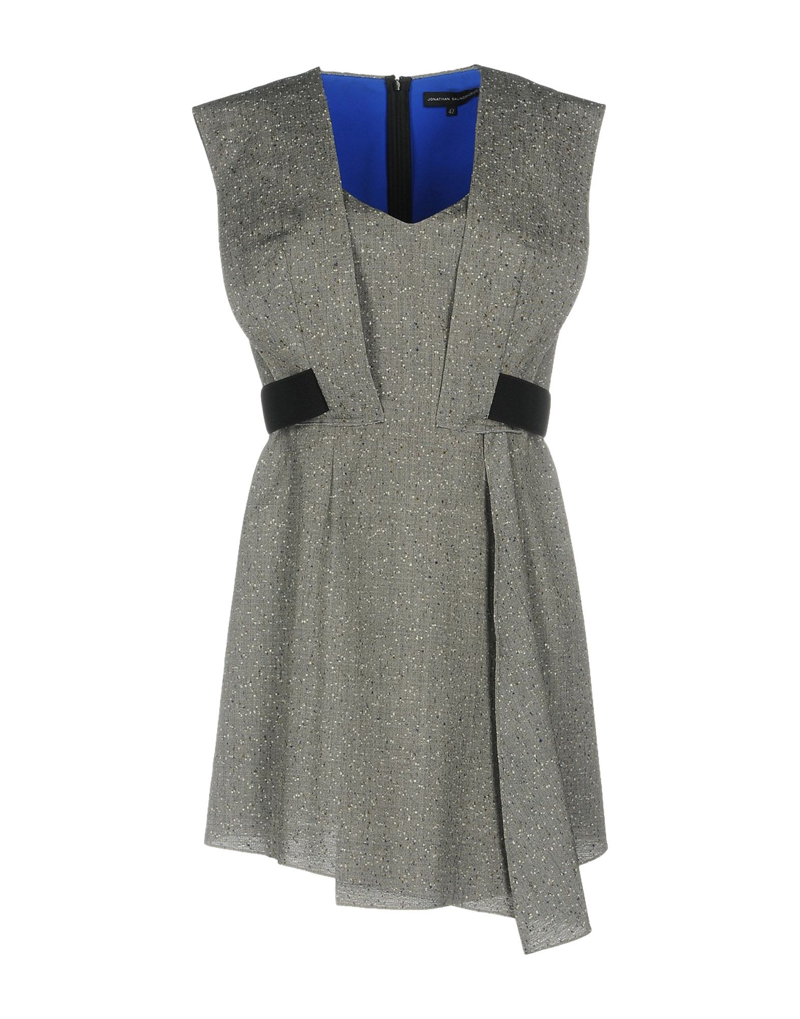 цена JONATHAN SAUNDERS Короткое платье онлайн в 2017 году
