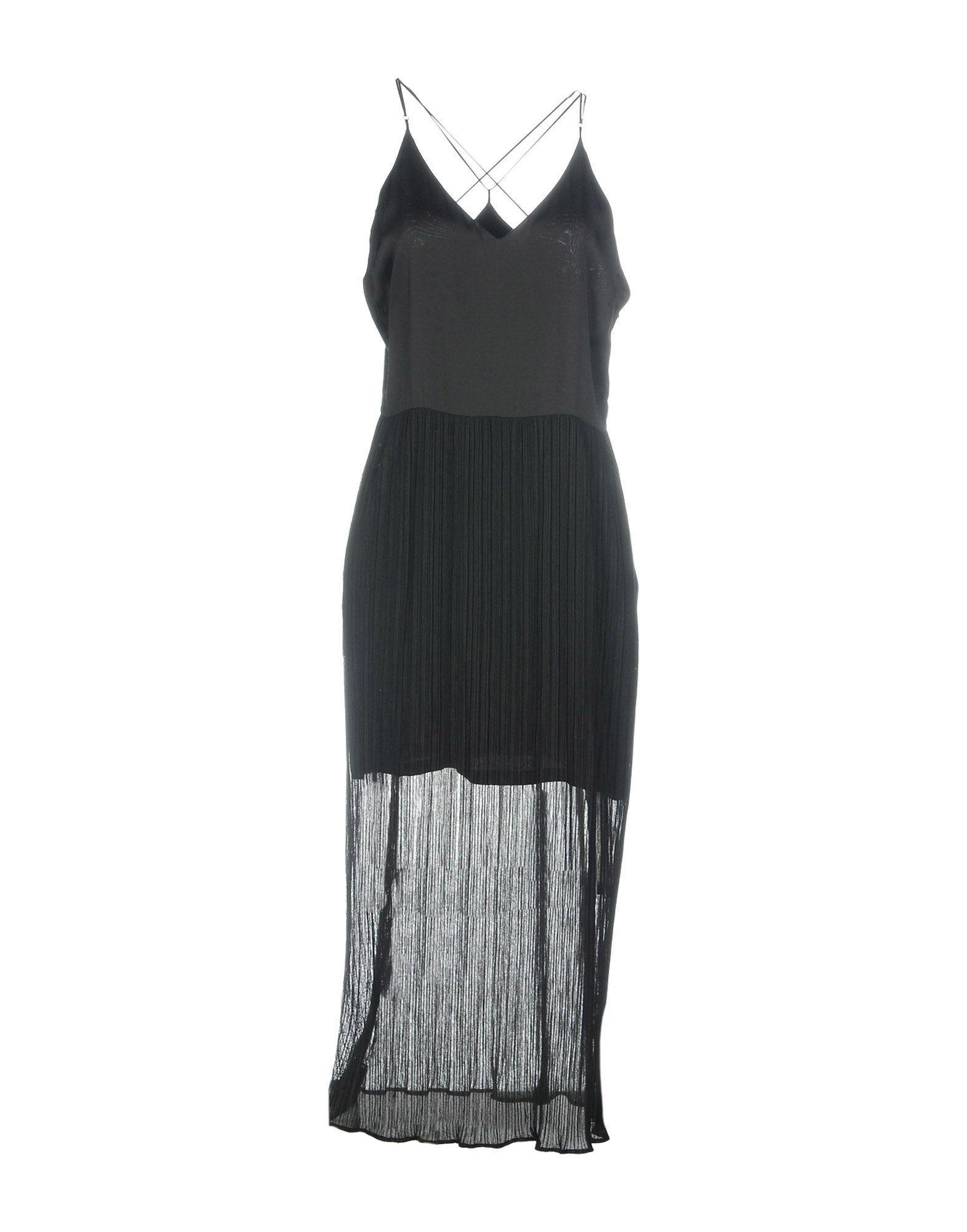 SANDRO Платье длиной 3/4 lisa corti платье длиной 3 4