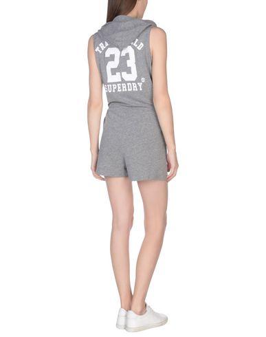 SUPERDRY Damen Freizeitanzug Grau Größe XS 60% Baumwolle 40% Polyester