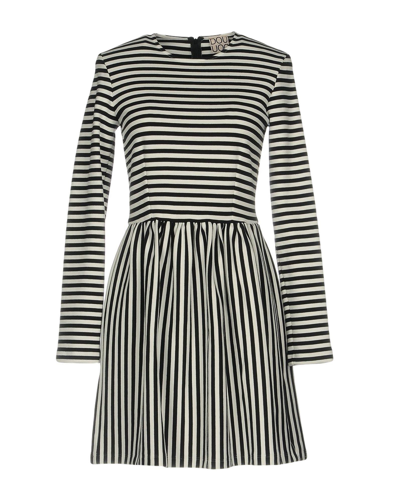 DOUUOD Short Dress in Black