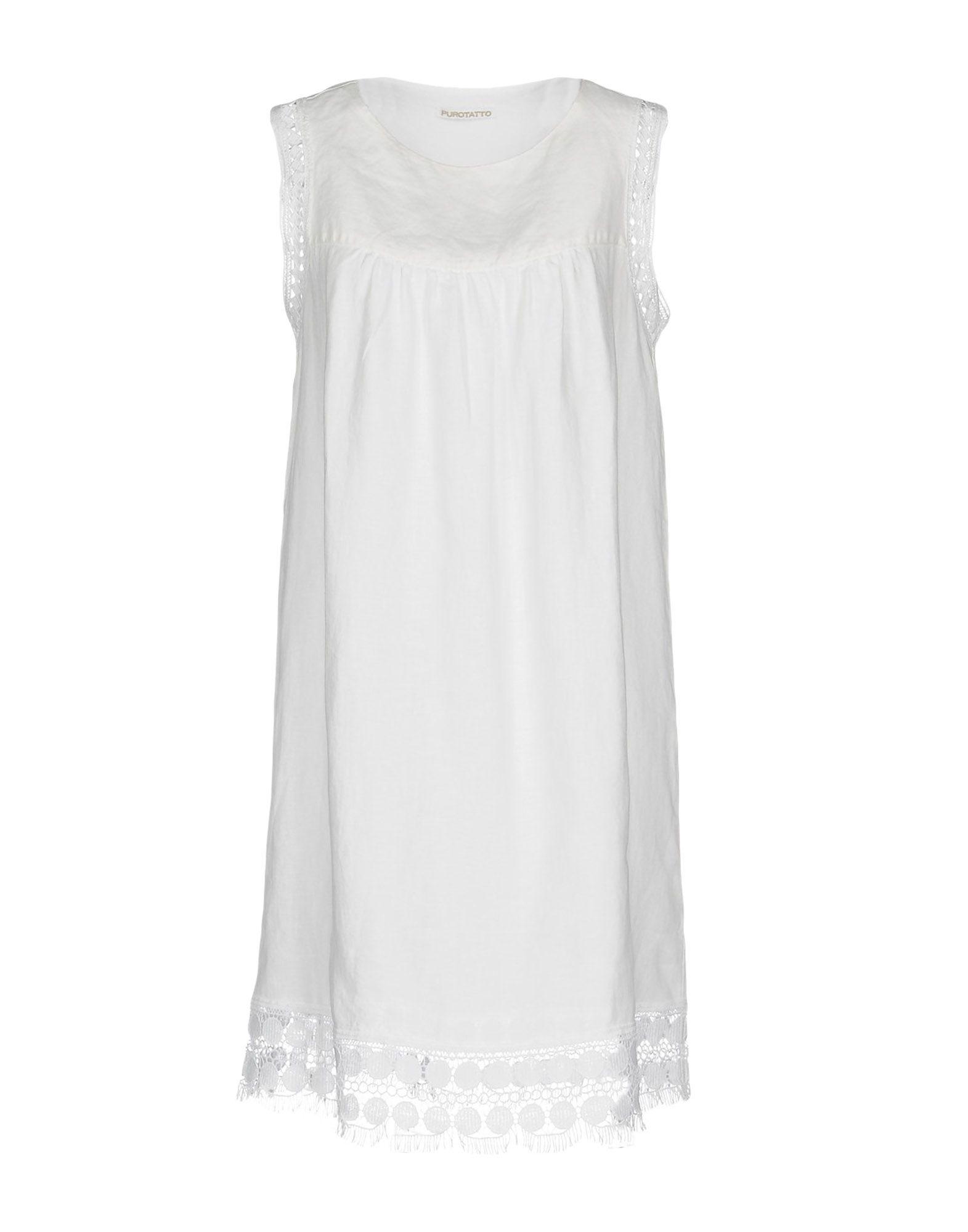 PUROTATTO Короткое платье