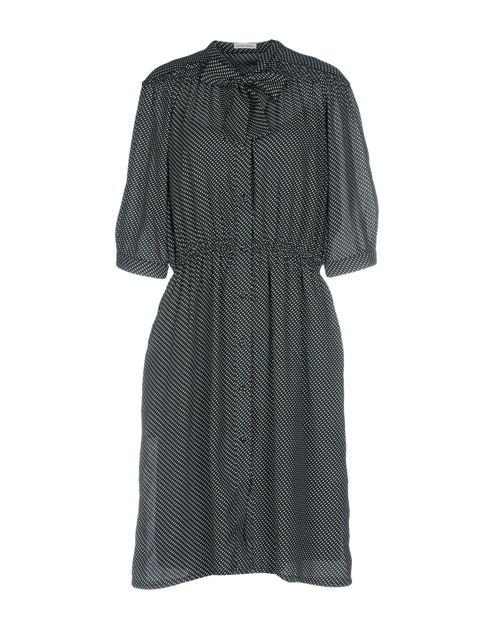 TOMAS MAIER Платье до колена цена 2017