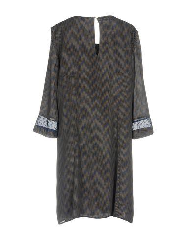 PATRIZIA PEPE Damen Knielanges Kleid Dunkelblau Größe 36 100% Polyester