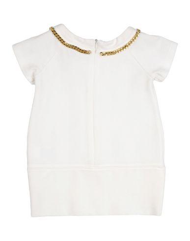 PATRIZIA PEPE Baby Kleid Elfenbein Größe 9 68% Viskose 27% Nylon 5% Elastan
