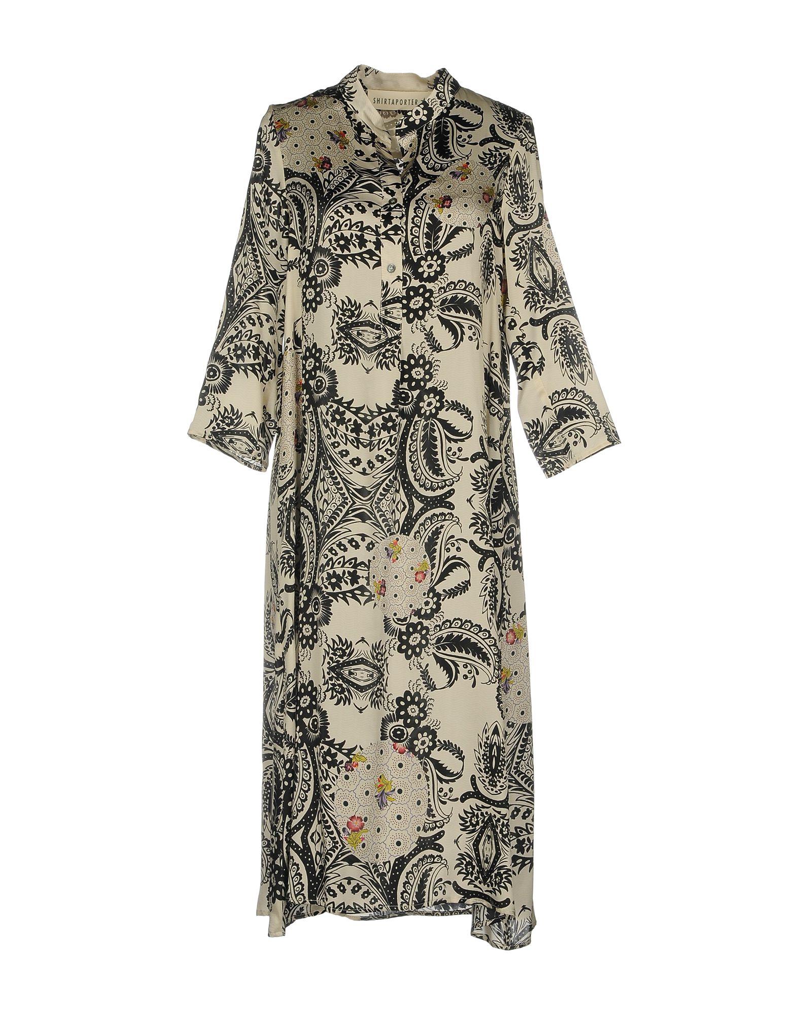 SHIRTAPORTER Платье до колена paolo casalini платье до колена