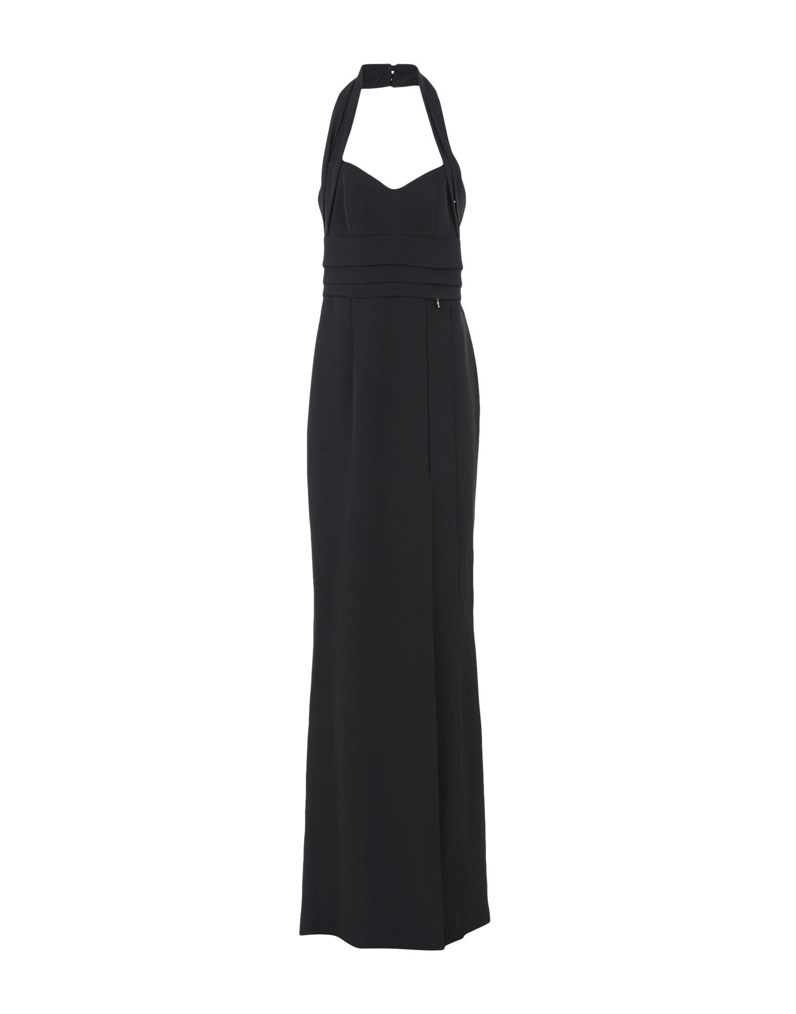 MANGANO Длинное платье платье короткое спереди длинное сзади летнее