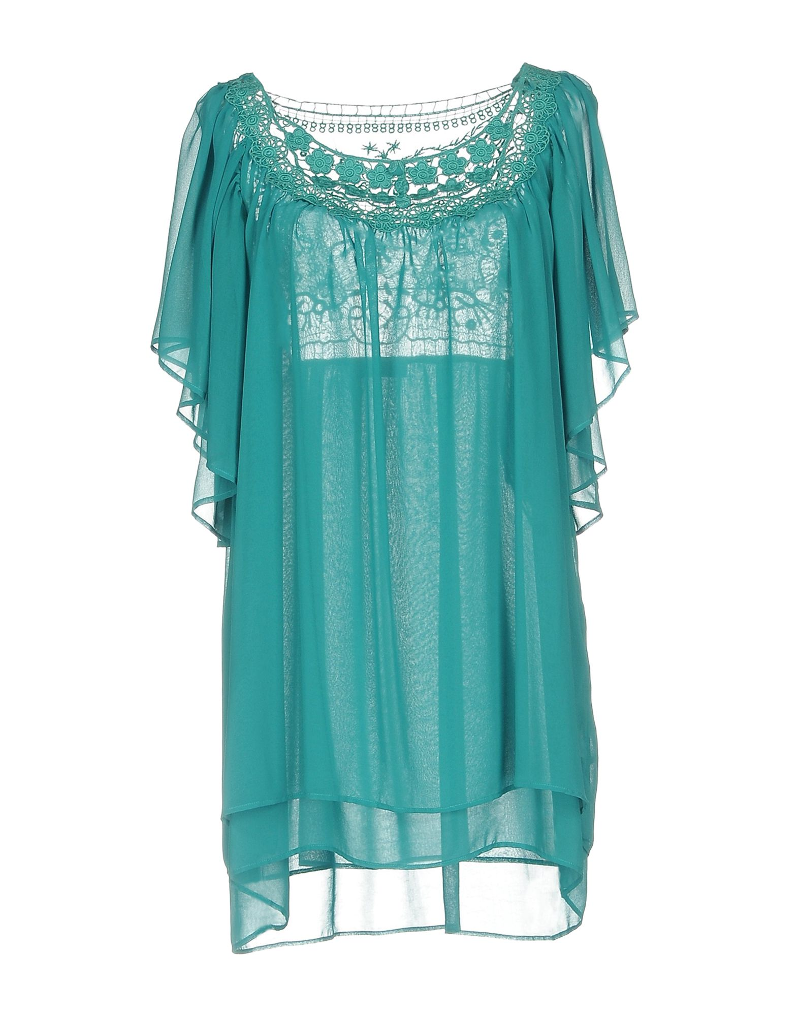 CLIPS MORE Короткое платье платье clips more платья и сарафаны мини короткие