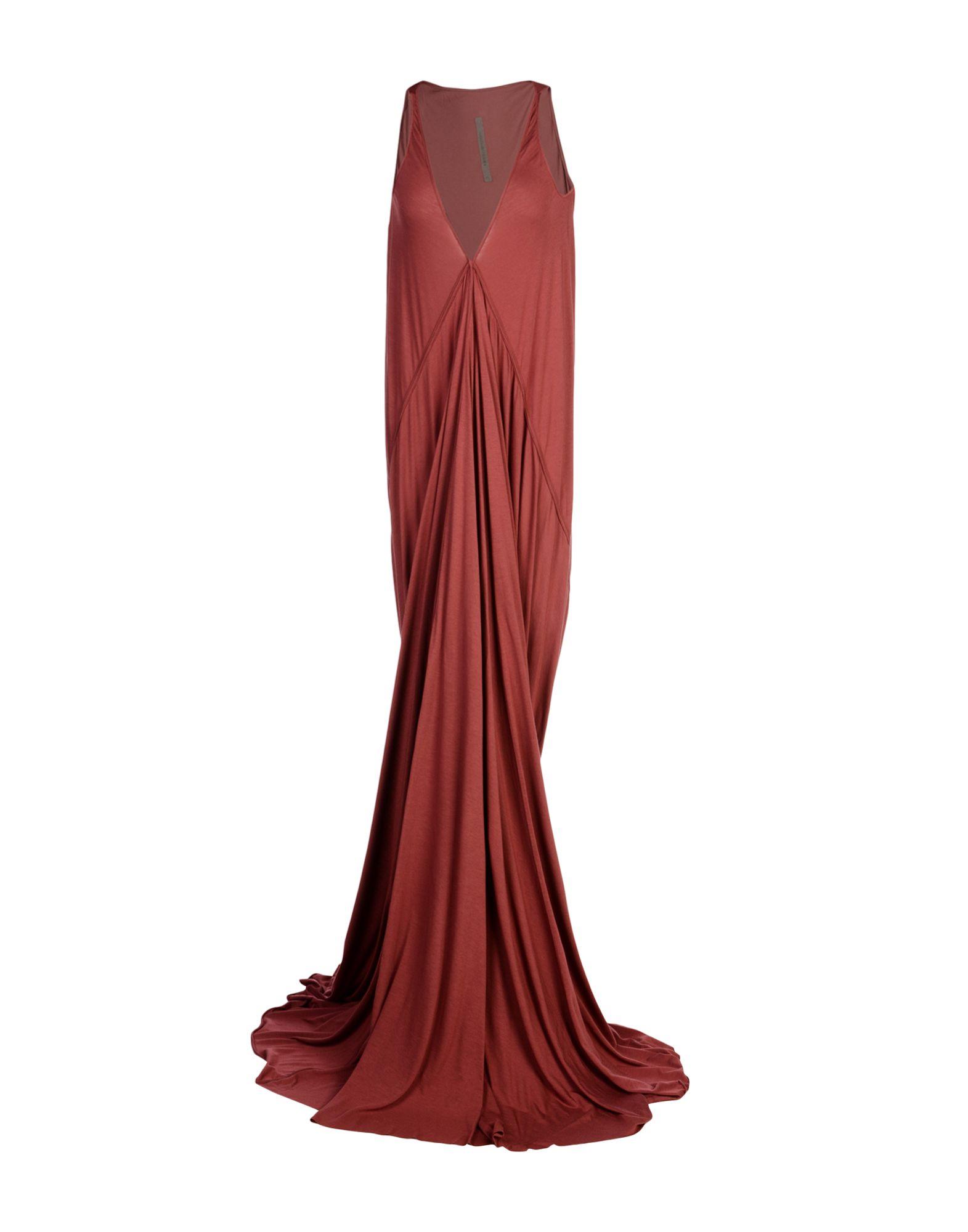 RICK OWENS LILIES Длинное платье rick owens длинное платье