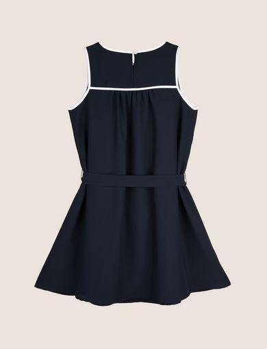 GIRLS SEAM DETAIL SWING DRESS