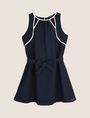 ARMANI EXCHANGE GIRLS SEAM DETAIL SWING DRESS Mini dress Woman f
