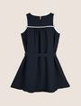 ARMANI EXCHANGE GIRLS SEAM DETAIL SWING DRESS Mini dress Woman r