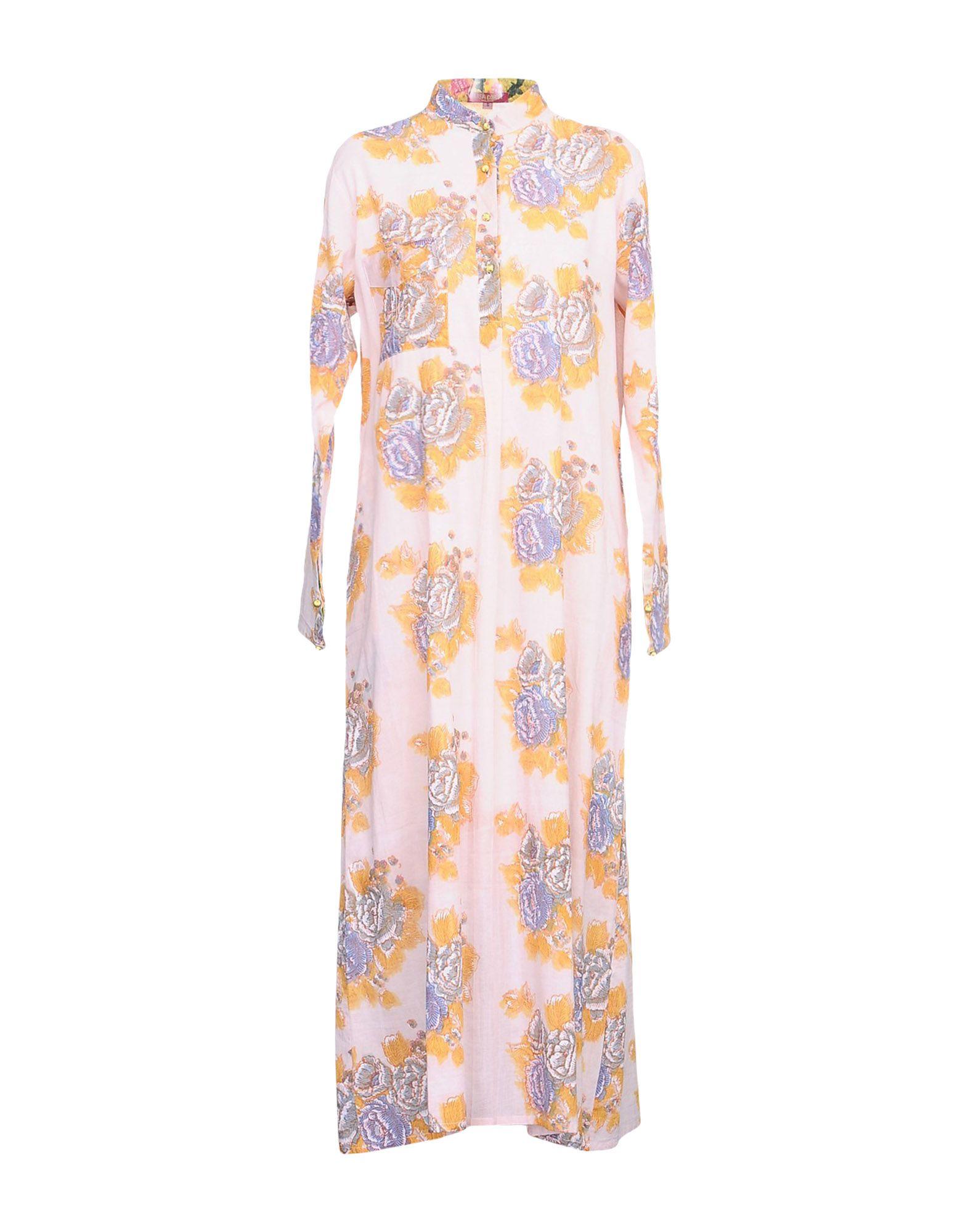 LISA CORTI Платье длиной 3/4 lisa corti сандалии