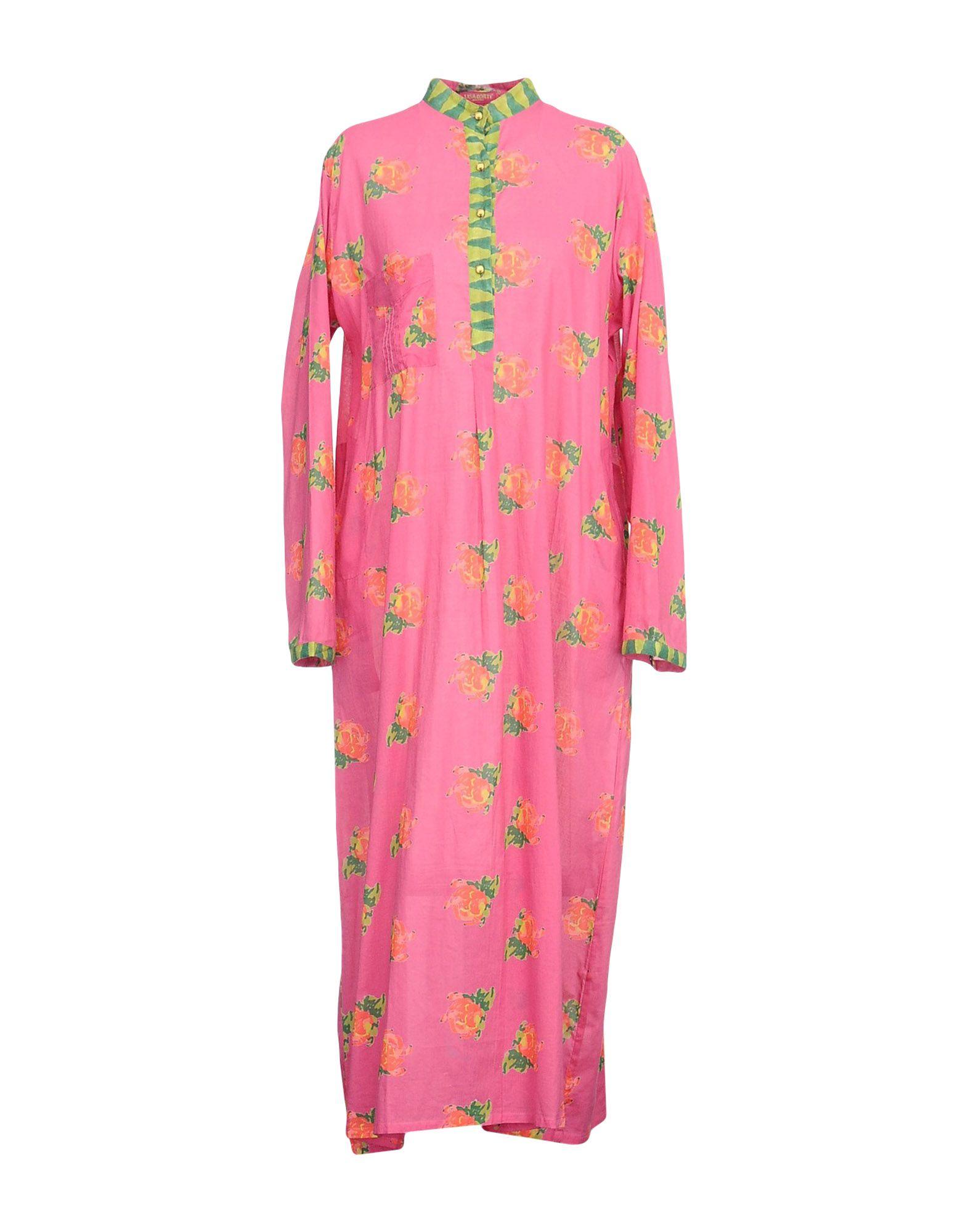 LISA CORTI Платье длиной 3/4 lisa corti кафтан