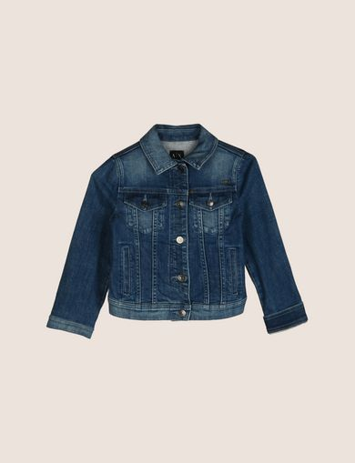 GIRLS CLASSIC DENIM TRUCKER JACKET
