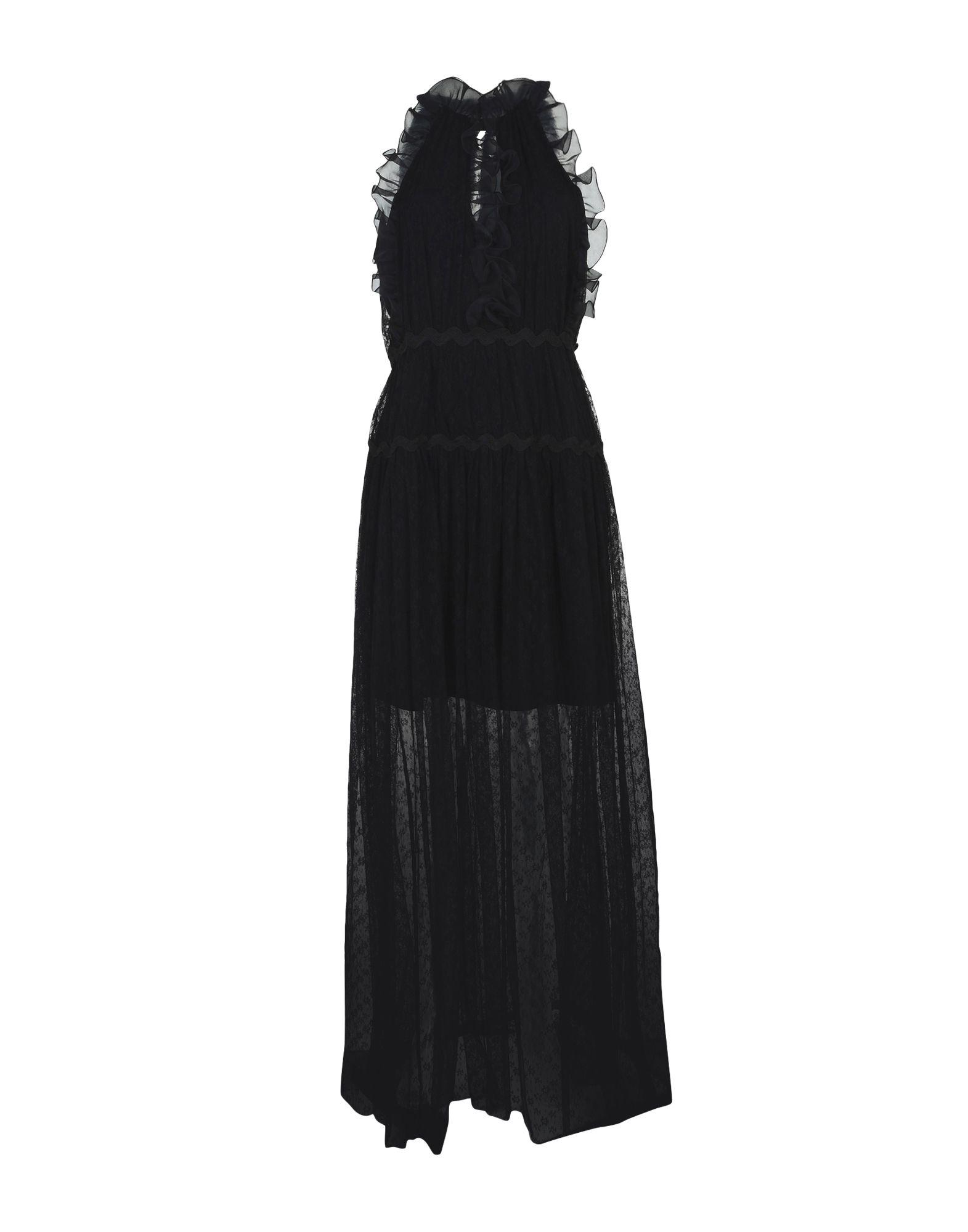 TRESOPHIE Damen Langes Kleid Farbe Schwarz Größe 6