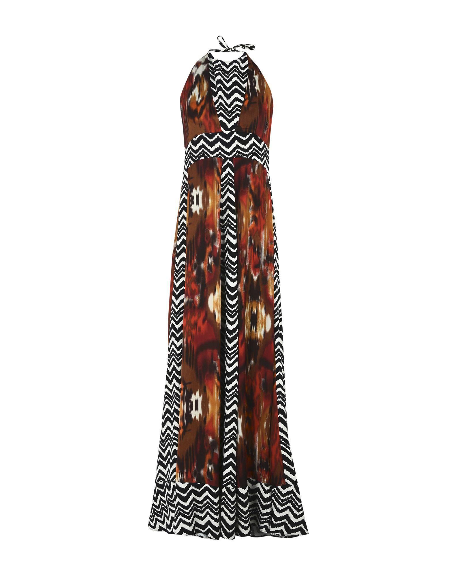 TWINS BEACH COUTURE Длинное платье bollard twins outfit