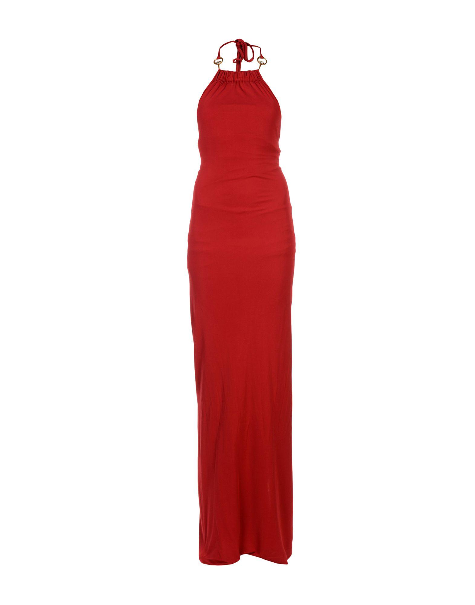 GUCCI Длинное платье gucci шерстяное платье