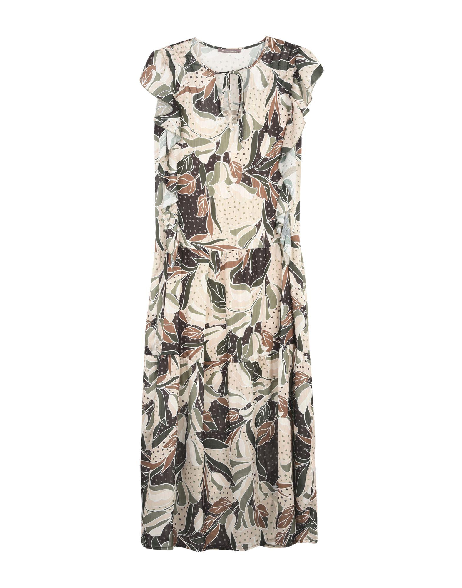 купить OLIVIA HOPS Длинное платье по цене 6100 рублей