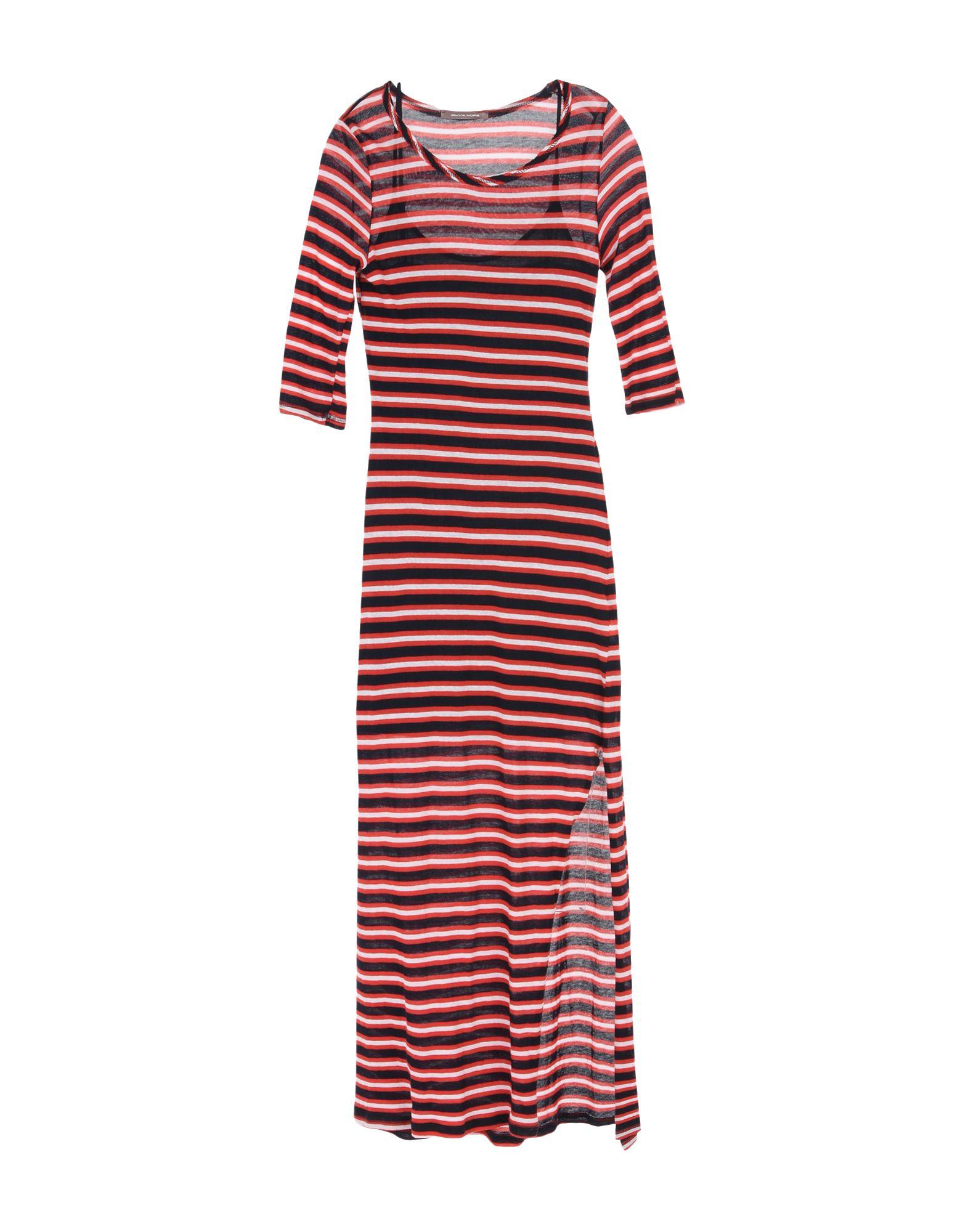 OLIVIA HOPS Длинное платье olivia hops блузка