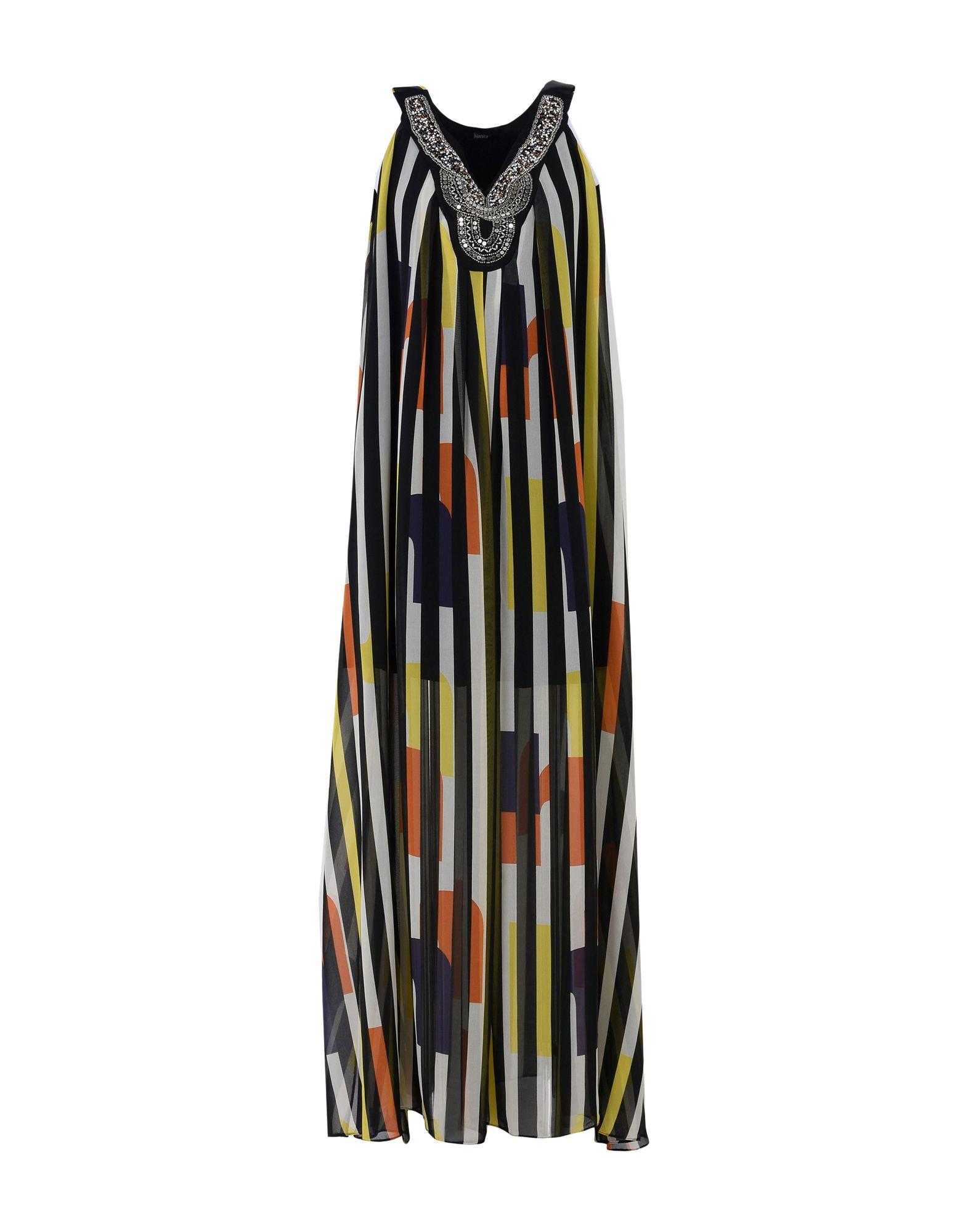 HANITA Длинное платье платье длинное без рукавов из кружева bina