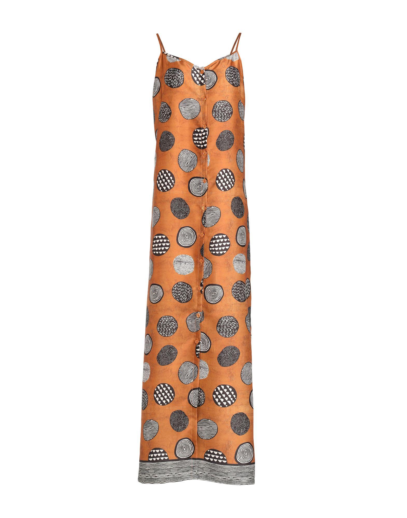 VICOLO Длинное платье платье короткое спереди длинное сзади летнее