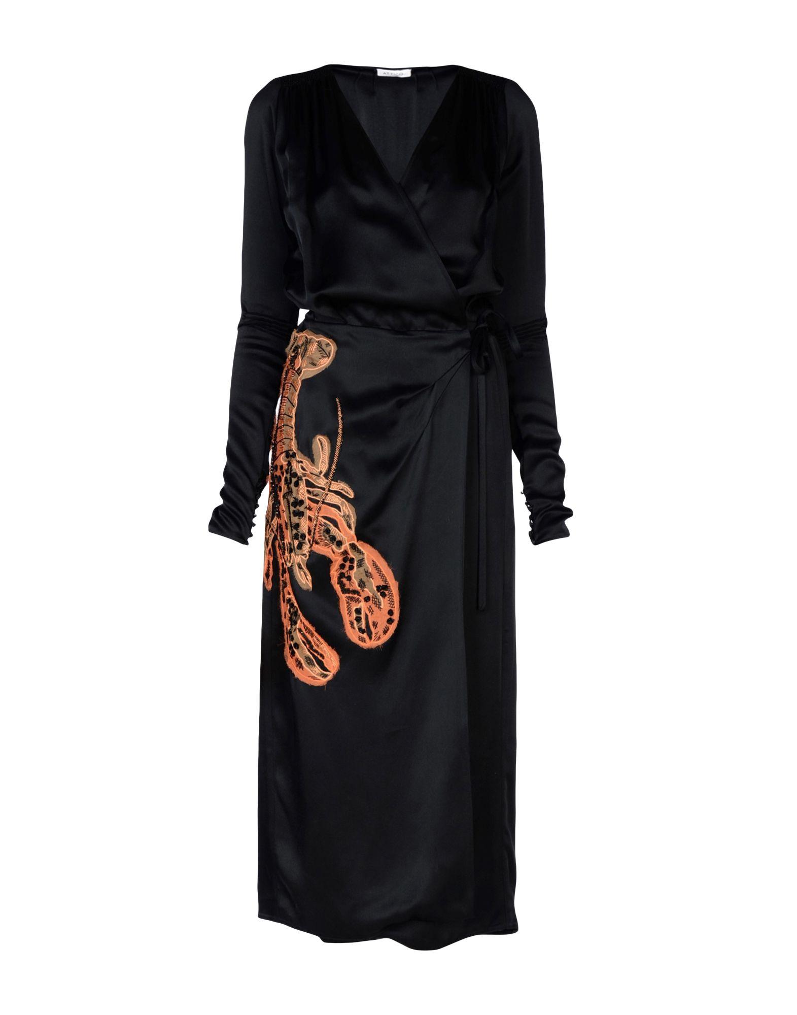 ATTICO Длинное платье